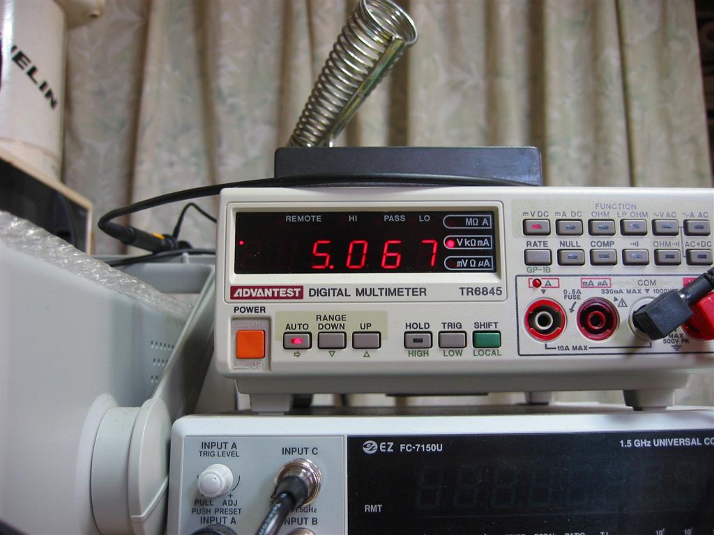出力電圧はほぼ5V