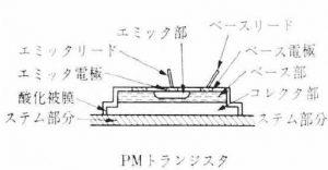 PMトランジスタ 2SC281