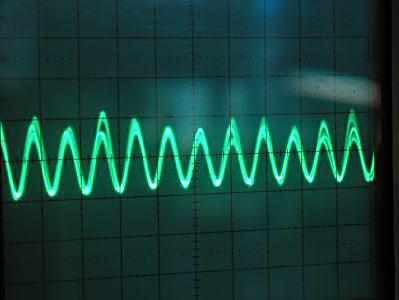 不安定な波形(C-Min)