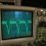 初段IFTの出力側の波形