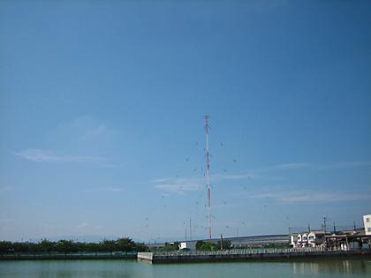 NHK大阪ラジオ送信所アンテナ