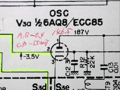9R-59DS 局発6AQ8回路