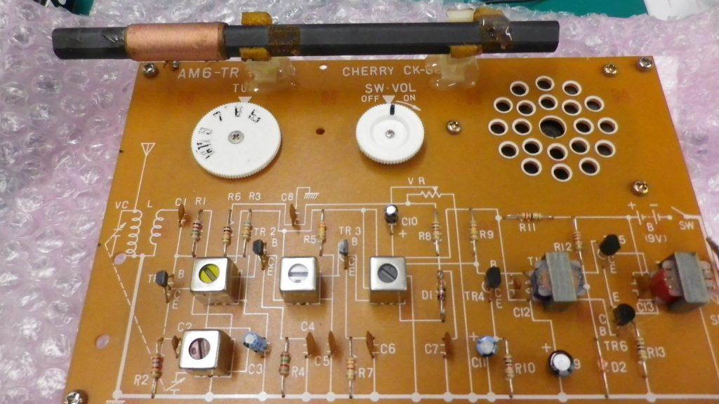 6石トランジスタラジオキット CHERRY CK-666