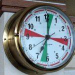 船舶通信室時計