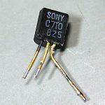 2SC710 in SONY CF1450