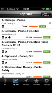 IOSアプリ 警察無線